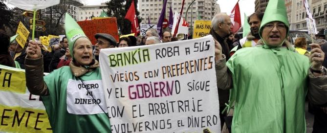 MANIFESTACIÓN DE RE-ACCIÓN CIUDADANA CONTRA POLÍTICAS ECONÓMICAS UE
