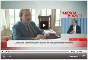 Levante TV 300x203 RECLAME A LOS BANCOS CON ÉXITO | Jaime Navarro Abogados