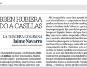 La tercera columna de Jaime Navarro