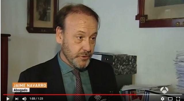 JAIME NAVARRO EN LOS MEDIOS| Explicamos en A3 TV qué gastos pueden seguir reclamándose al banco