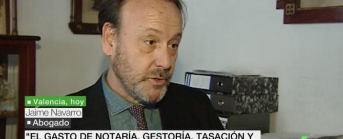 Jaime Navarro en la Sexta