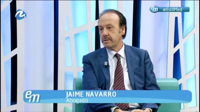 Entrevista a Jaime Navarro sobre las Clausulas Suelo