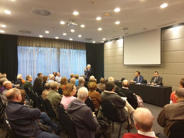 Rotundo éxito en la conferencia de Córdoba