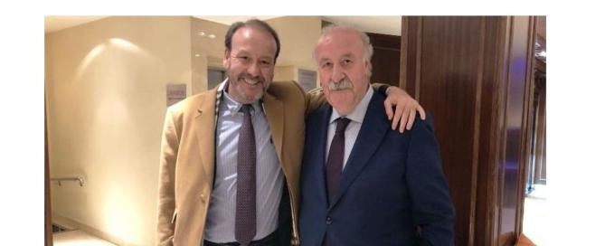 Jaime Navarro y Vicente del Bosque