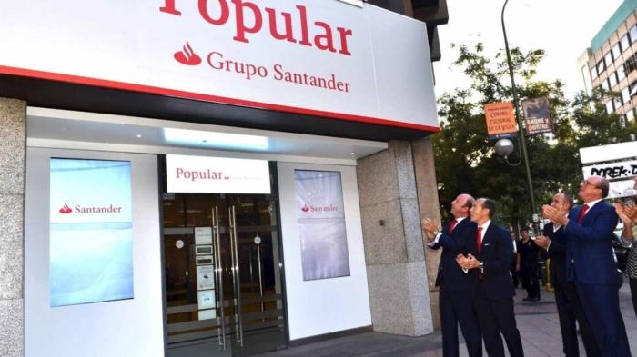 Macrodemanda contra el Santander por las acciones del B. Popular